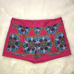 ⚜️Nicole by Nicole Miller Pink Graphic Shorts 4⚜️